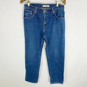 Levis Relaxed Tapered 550 Jeans Medium Wash